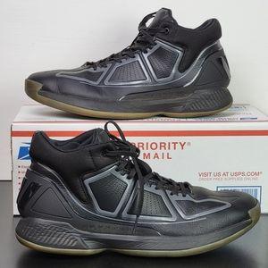Adidas Derrick Rose 10 Black Grey Men's Shoes 11.5